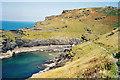 SX0991 : Path to the mouth-Boscastle, Cornwall by Martin Richard Phelan