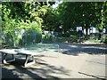 TL0922 : Games court, Wardown Park by Alex McGregor