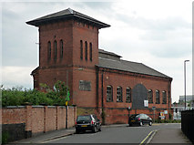 SK3436 : Former engine house, Great Northern Road, Derby by Stephen Richards