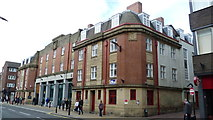 SK3487 : Old Fire Station on Division Street, Sheffield by Jeremy Bolwell