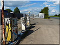 SP4388 : Old petrol pumps along the B4114 Smockington Lane by Mat Fascione