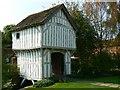 SO6855 : Gatehouse, Lower Brockhampton Estate, Herefordshire by Brian Robert Marshall