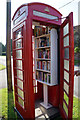 SE4663 : Telephone Box Library, Aldwark by Ian S