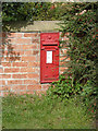 SK8282 : Littleborough postbox ref DH22 58 by Alan Murray-Rust