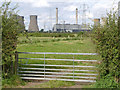 SK7983 : View towards West Burton Power Station by Alan Murray-Rust