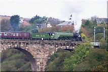 NT9953 : Tornado crossing Royal Border Bridge by David Chatterton