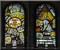 TF2157 : Stained glass window, Holy Trinity church, Tattershall by J.Hannan-Briggs