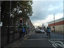 TQ3187 : Green Lanes at the junction of Endymion Road by David Howard