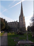 ST8992 : North side of a Grade I listed church in Tetbury by Jaggery