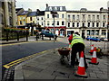 H4572 : Pavement repairs, Omagh by Kenneth  Allen