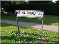 TQ4377 : Street nameplate, Ha-Ha Road, Woolwich by Chris Whippet