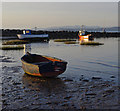 SD4465 : Small boats moored on the beach by Ian Taylor
