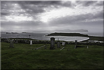 NG2261 : Trumpan Cemetery by Peter Moore