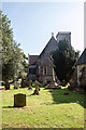 SY0785 : Bicton Old Church, Bicton Park Botanical Garden, Devon by Christine Matthews