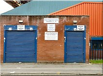 SJ8889 : Turnstiles 17 - 19 at Stockport County by Gerald England