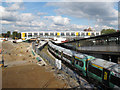 TQ3265 : New footbridge at East Croydon station by Stephen Craven