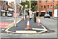 J3773 : The Upper Newtownards Road (EWAY), Ballyhackamore, Belfast - October 2014(1) by Albert Bridge