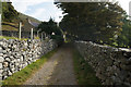 SH7074 : North Wales Path at Blaen-llwyn by Ian S