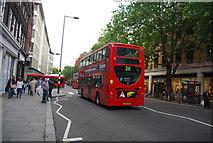 TQ2778 : Red London Bus, King's Rd by N Chadwick