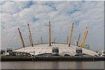 TQ3980 : O2 Centre as seen from The River Thames by Christine Matthews