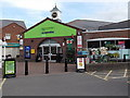 SJ5128 : The Co-operative Food store and post office in Wem by Jaggery