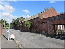 SJ3591 : Everton Drill Hall, Back Guildford Street by John S Turner