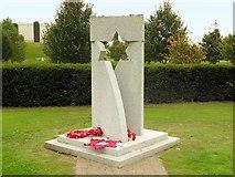 SK1814 : Memorial to Jewish Ex-Servicemen and Women at the National Memorial Arboretum by David Dixon