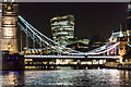 TQ3380 : City of London from Tower Bridge by Christine Matthews