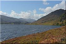NH3139 : Looking up Loch Beannacharan by Nigel Brown