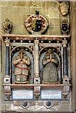 SJ3454 : All Saints Church, Gresford - monument to Sir Richard Trevor by Mike Searle