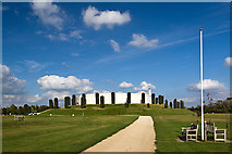 SK1814 : National Memorial Arboretum - Armed Forces Memorial by Mike Searle