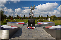 SK1814 : National Memorial Arboretum - Royal Air Forces Association Memorial by Mike Searle