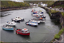 SX0991 : Boscastle Harbour by Robert Ashby