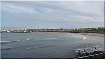 C8540 : West Bay Portrush by Willie Duffin