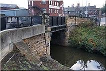 SK4293 : Bridge Street Bridge, Rotherham by Ian S