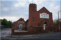 SK4293 : Camelot Play Castle on Tenter Street, Rotherham by Ian S