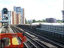 TQ1883 : View from Alperton station by Marathon
