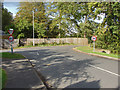 SU9170 : New Road junction, North Ascot by Alan Hunt
