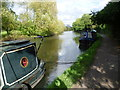 TQ1683 : Narrow boats on the Paddington Arm of the Grand Union Canal by Marathon