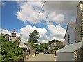 SX3062 : Houses in Doddycross by Derek Harper