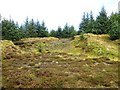 NS7422 : Quarry, Scar Hill by Richard Webb