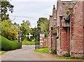 SU0611 : Entrance gate and Gatehouse, Edmondsham House and Gardens by Derek Voller