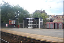 SE2439 : Shelter, Horsforth Station by N Chadwick