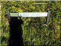 TL7646 : Clare Road sign by Adrian Cable
