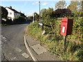 TL7646 : Clare Road & Snow Hill Poslingford Corner Postbox by Adrian Cable