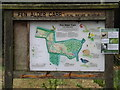 TM0856 : Map of Fen Alder Carr Nature Reserve by Adrian Cable