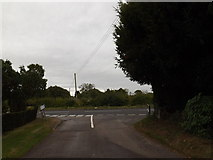 TM0959 : Wicks Lane, Forward Green by Adrian Cable