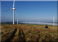 SD5763 : Caton Moor wind farm by Ian Taylor