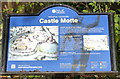 SK5804 : Information board on top of Leicester Castle Motte by Mat Fascione