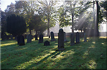 SD5464 : St Paul's Church graveyard, Brookhouse by Ian Taylor